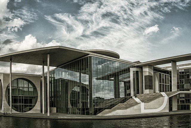 Berlin, Spree, Government Buildings, Architecture