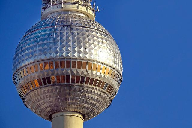Tv Tower, Berlin, Alexanderplatz, Places Of Interest