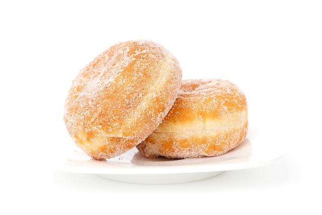 Berliner, Breakfast, Bun, Cake, Dessert, Donut, Fat
