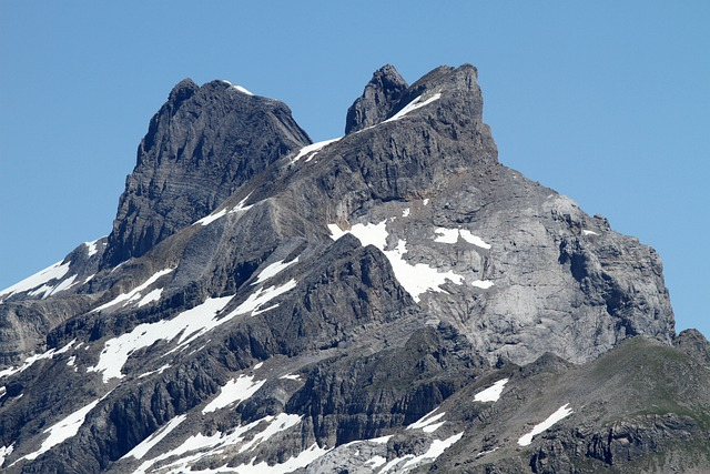 Turn Sticks, Berner, Bernese Oberland, Alps, Mountains