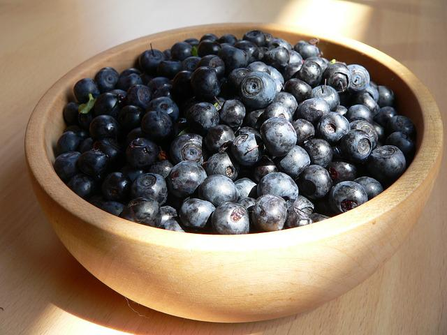 Blueberries, Purple, Berries, Berry, Blue, Forest