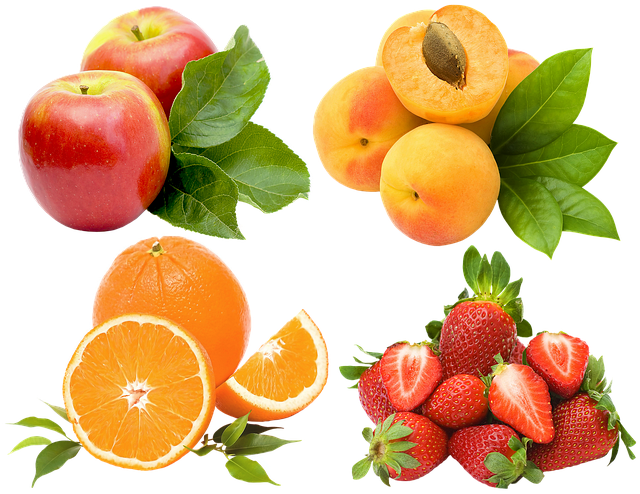 Fruit, Berry, Apples, Strawberry, Apricots