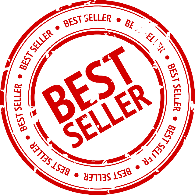 Best Seller, Seller, Stamp, Red