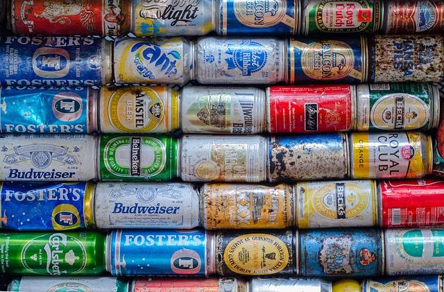 Cans, Drink, Pollution, Trash, Beverage, Soda, Metal
