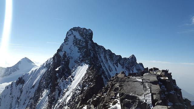 Piz Bernina, Alpine, Biancograt, Summit, Graubünden