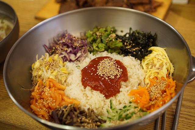 Bibimbap, Korean, Gochujang, Republic Of Korea, Food