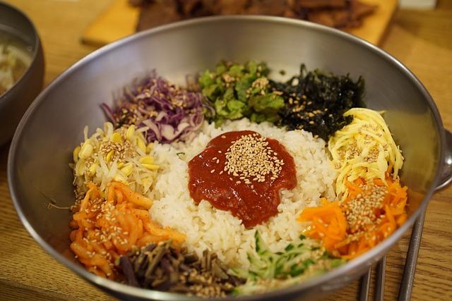Bibimbap, Korean, Gochujang, Republic Of Korea, Food
