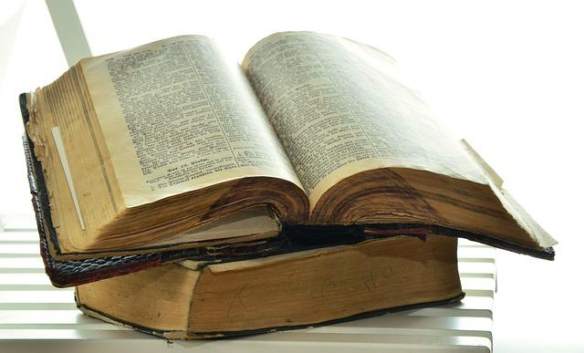 Bible, Old Bible, Historically, Christianity, Pages