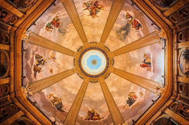 Dom, Church, Dome, Italy, Painting, Artwork, Bible