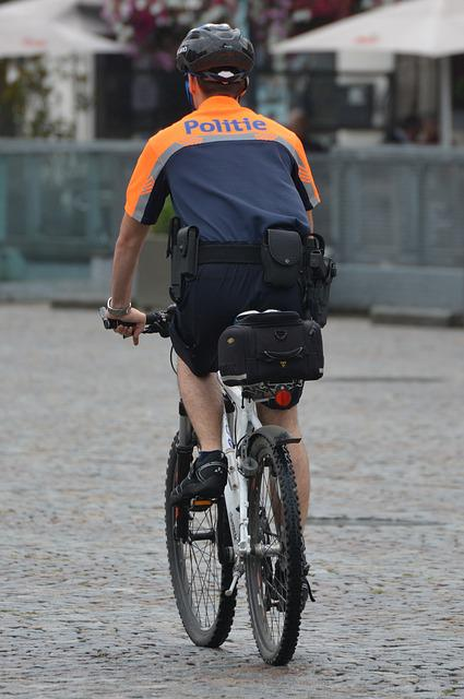 Agent, Police, Police Officer, Uniform, Job, Bicycle