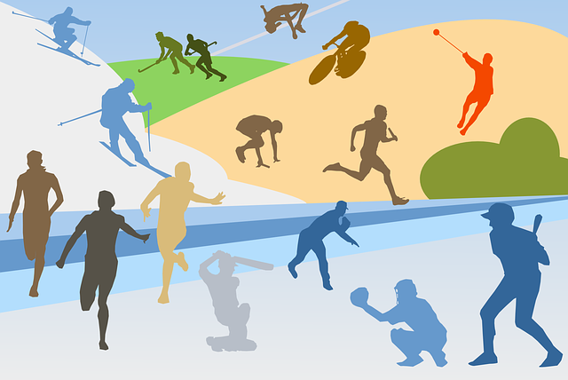 Sports, Athletics, Collage, Baseball, Bicycle, Cricket