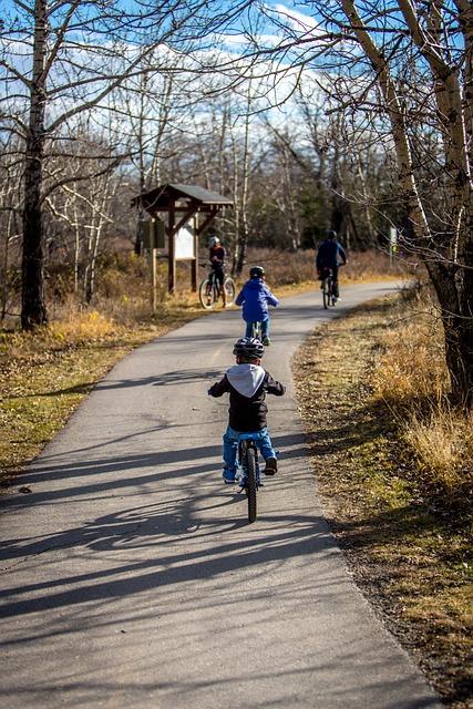 Biking, Family, Adventure, Bicycle, Bike, Happy, People