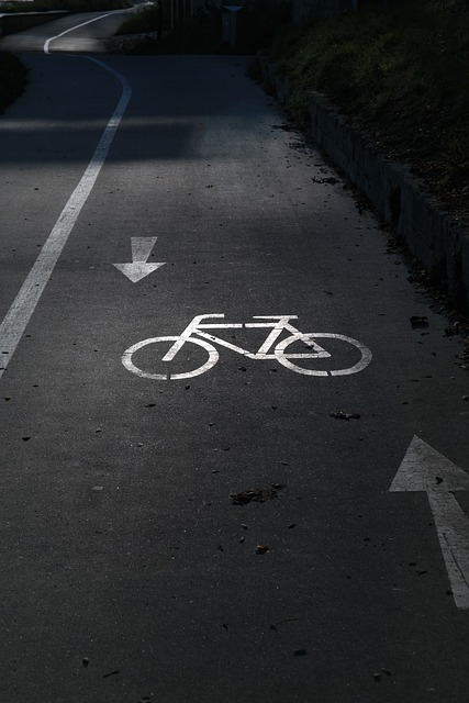 Cycle Path, Gauge, Bicycle Path, Bike, Away, Road, Tar