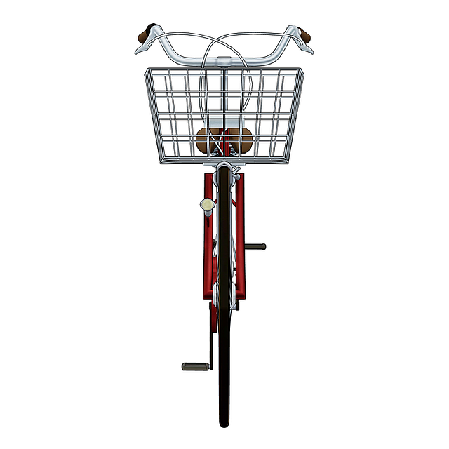 Red Bicycle, Pedals, Bicycle, Bike, Red, Wheel