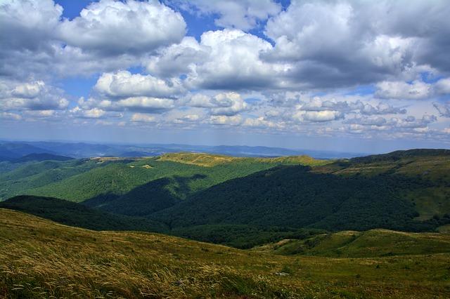 Bieszczady, Tarnica, Beech Berdo, Mountains