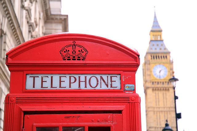Cabin, Phone Booth, Red, Big Ben, The Clock Tower