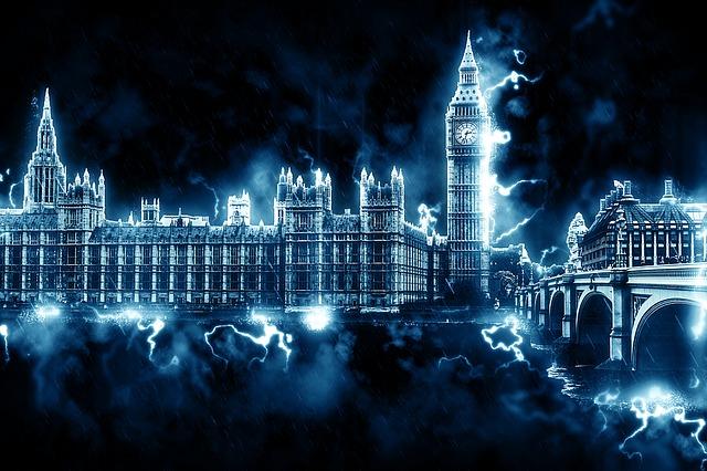 Westminster, London, England, Uk, Big Ben, Government