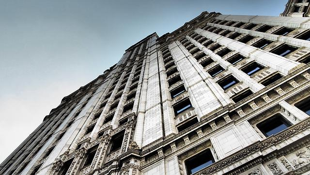 Chicago, Skyscraper, America, Big City, City