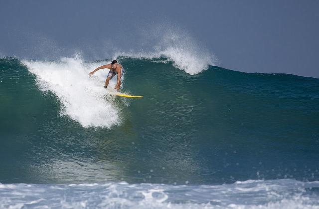 Surfing, Indonesia, Java Island, Sawarna, Big Waves