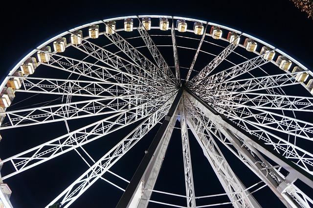 Big Wheel, Fairground, Wheel, Big, Amusement, Ferris