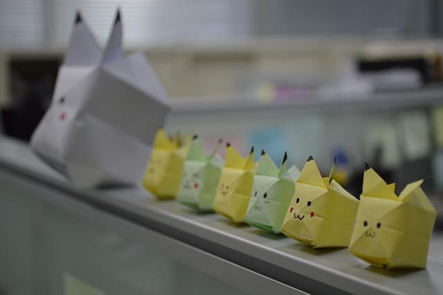 Bika Qiu, Origami, Manual