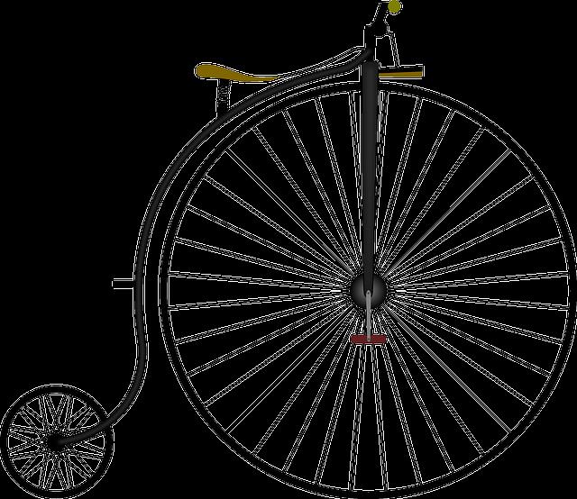 High-wheel Bicycle, Bicycle, High Wheeler, Bike