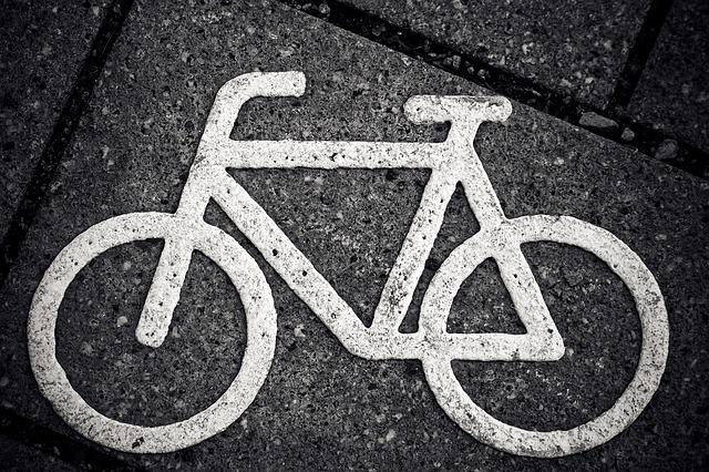 Bike, Characters, Cycle Path, Road, Bicycle Path