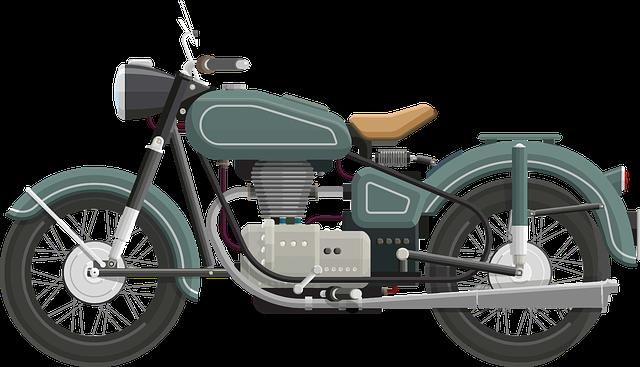 Art, Bike, Classic, Drive, Flat Shaded, Motorbike