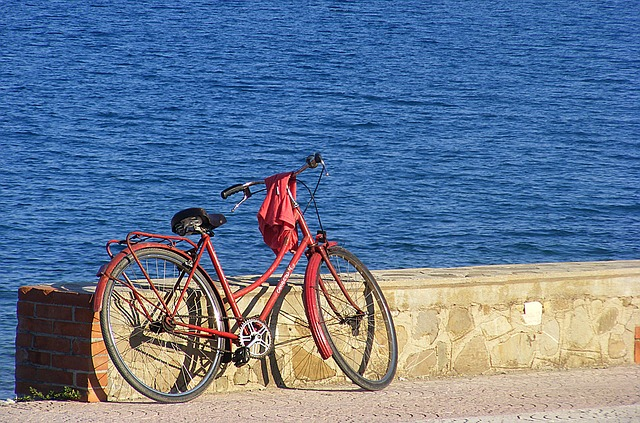 Bike, Bicycle, City Bike, Old Bike, Sea, Beach