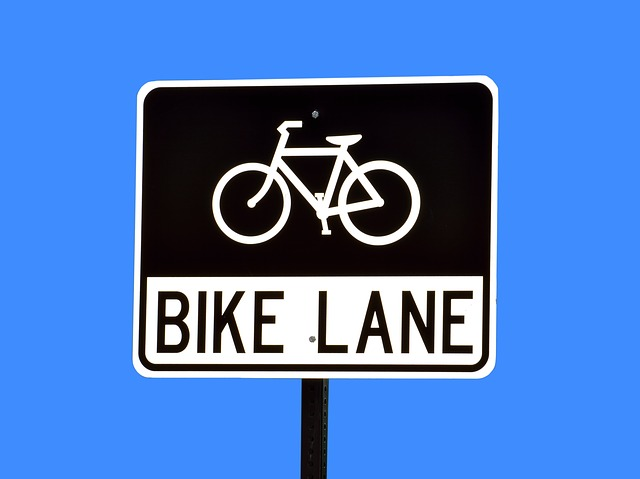 Bike Land, Sign, Signage, Road Sign, Bike, Road