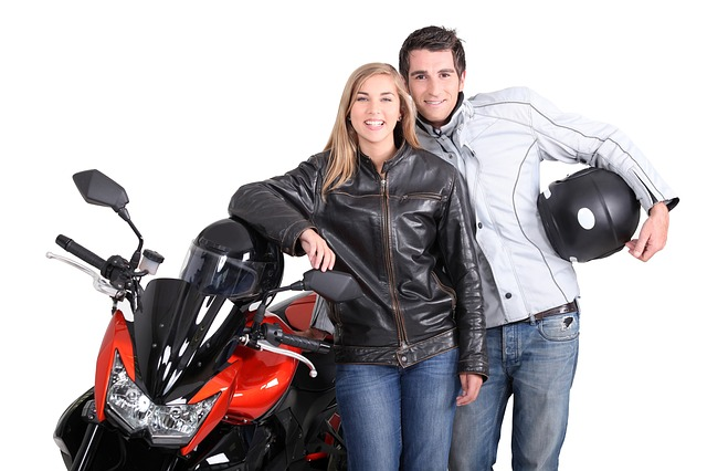 Motorcycle, Bikers, Woman, Man, Couple, Motor Bike
