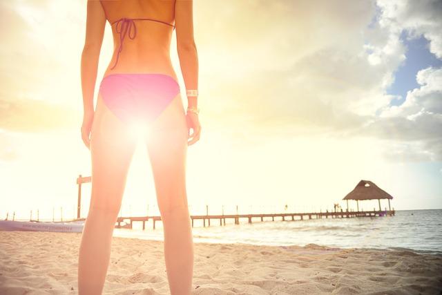 Woman, Bikini, Feminine, Relaxation, Tranquility