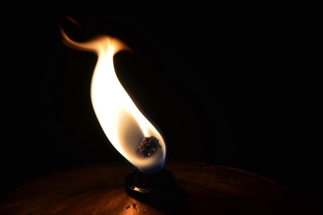 Oil Lamp, Flame, Lamp, Fire, Bill