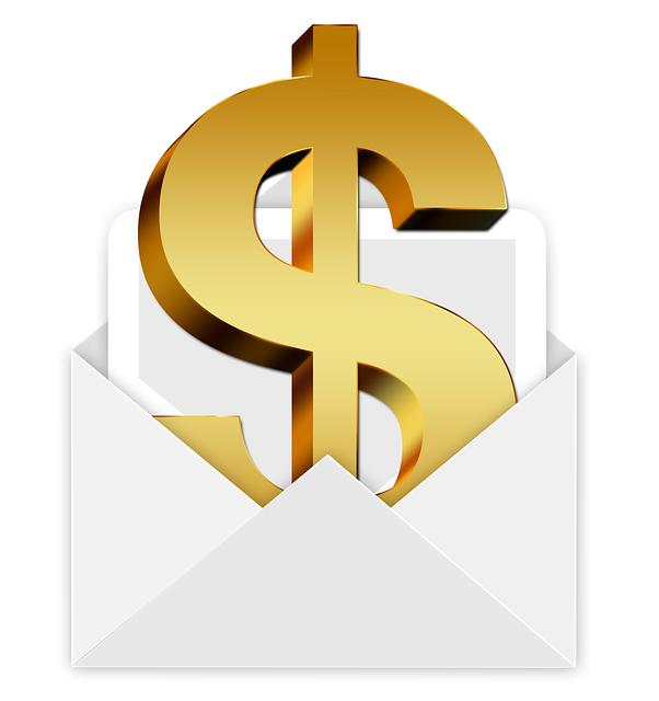 Envelope, Money, Dollar, Bill, Gift, Christmas, E Mail