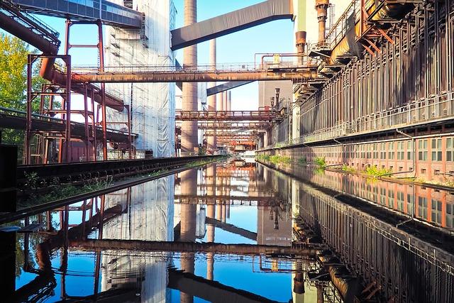 Bill, Zeche Zollverein, Mine, World Heritage