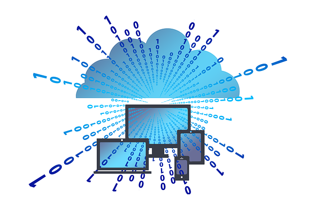Cloud, Monitor, Cloud Computing, Binary Code, Binary