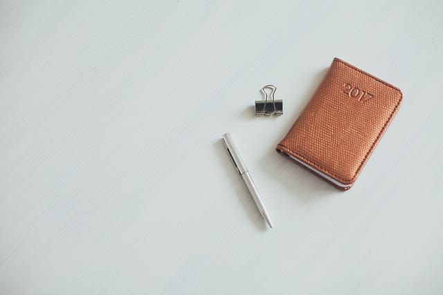 Notebook, Notes, Diary, Pen, Calendar, Year, Binder