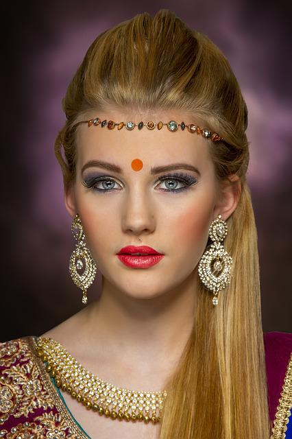 Bindi, Asian, Jewellery, Beauty, Portrait, Bridal
