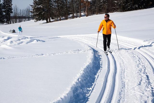 Cross-country Skiing, Trail, Trace, Binding