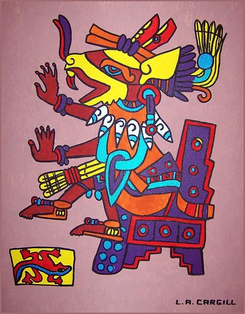 Huehuecoyotl, Aztec, Aztec God, Trickster, Incas, Bird
