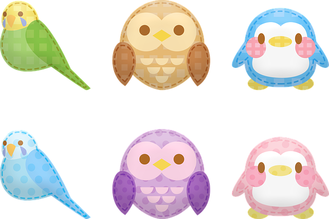 Kawaii Animals, Animal Stickers, Kawaii, Bird, Owl