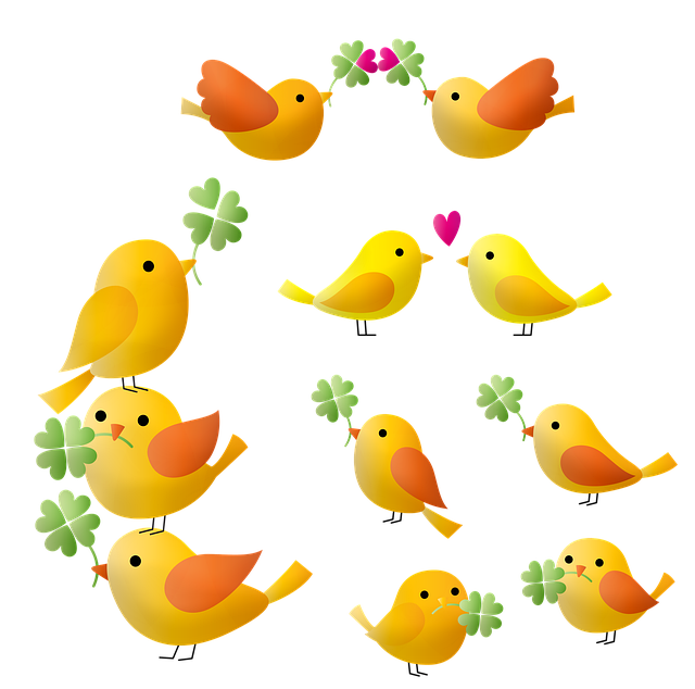 Birds, Clover, Bird Tower, Bird Flying, Flying, Bulding
