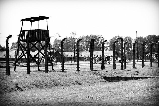 Concentration Camp, Auschwitz, Birkenau, Vedetta