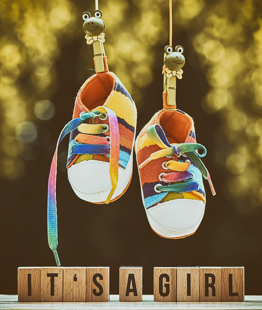 Birth, Baby, Girl, Shoes, Children's Shoes, Parents