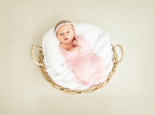 Baby, Girl, Birth, New Born