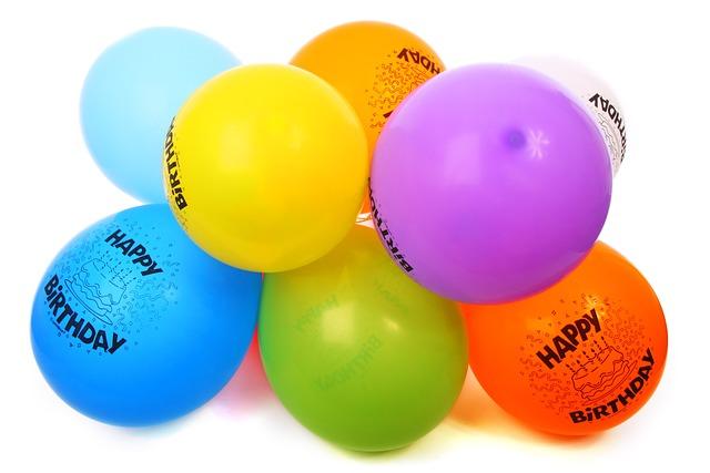 Air, Balloon, Balloons, Birthday, Bright, Bubble
