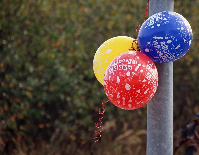 Birthday, Balloon, Happy Birthday, Colorful, Ballons