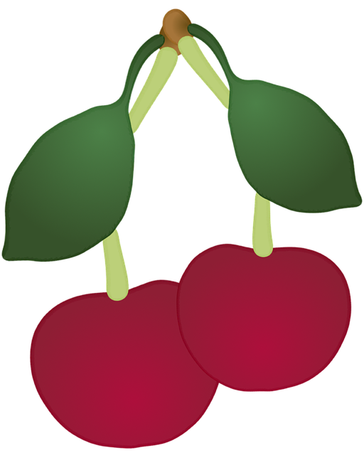 Fruit, Cherry, Decoration, Birthday, Invitation, Icon