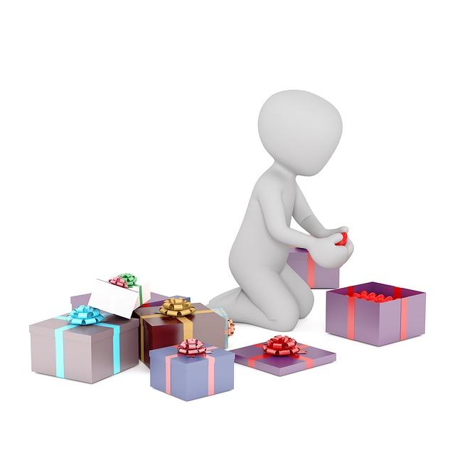Birthday, Gifts, Unpack, Christmas, 3d, 3dman, 3dman Eu