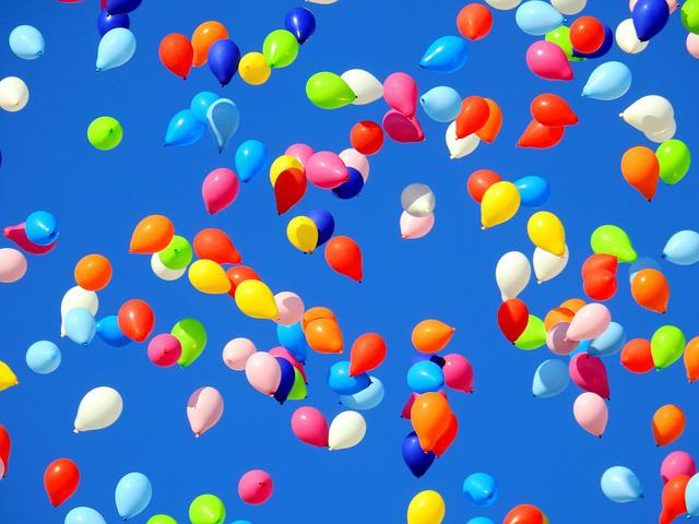 Balloon, Party, Carnival, Move, Sky, Birthday, Wedding
